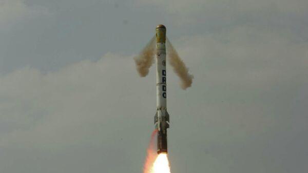 Испытательный пуск ракеты Шаурья