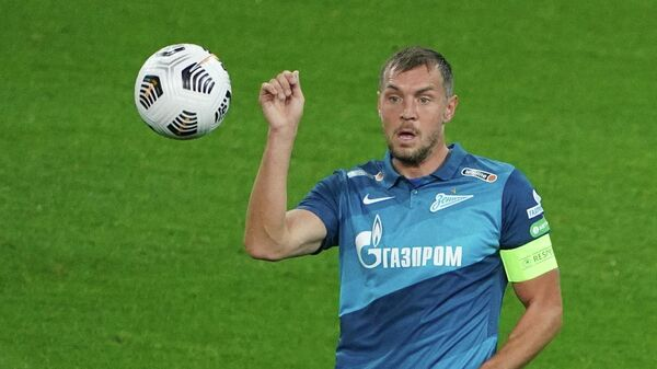 Игрок ФК Зенит Артем Дзюба