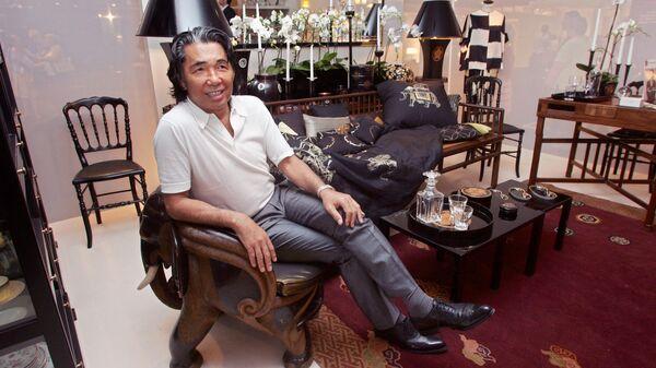 Японский модельер, создатель бренда Kenzo Кендзо Такада