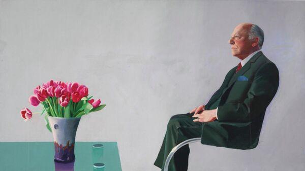 Портрет сэра Дэвида Уэбстера, 1971. Дэвид Хокни