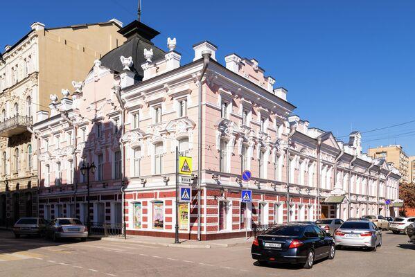 Улица Фиолетова в Астрахани