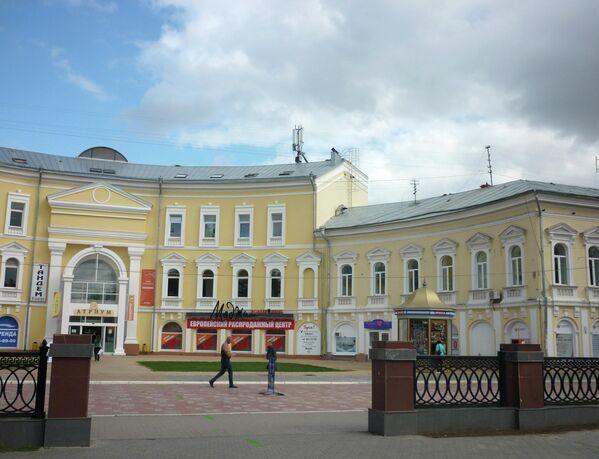 Улица Кирова в Астрахани