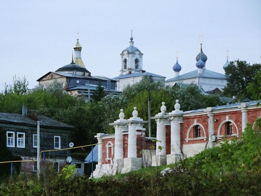 Вид на центр города от дома Кастровых