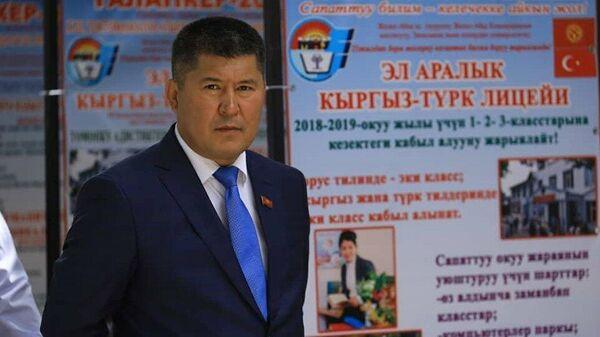 Мэр Джалал-Абада Мураталы Тагаев