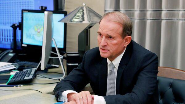 Председатель политсовета украинской партии Оппозиционная платформа - За жизнь Виктор Медведчук