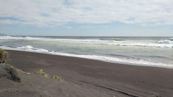 Халактырский пляж на Камчатке