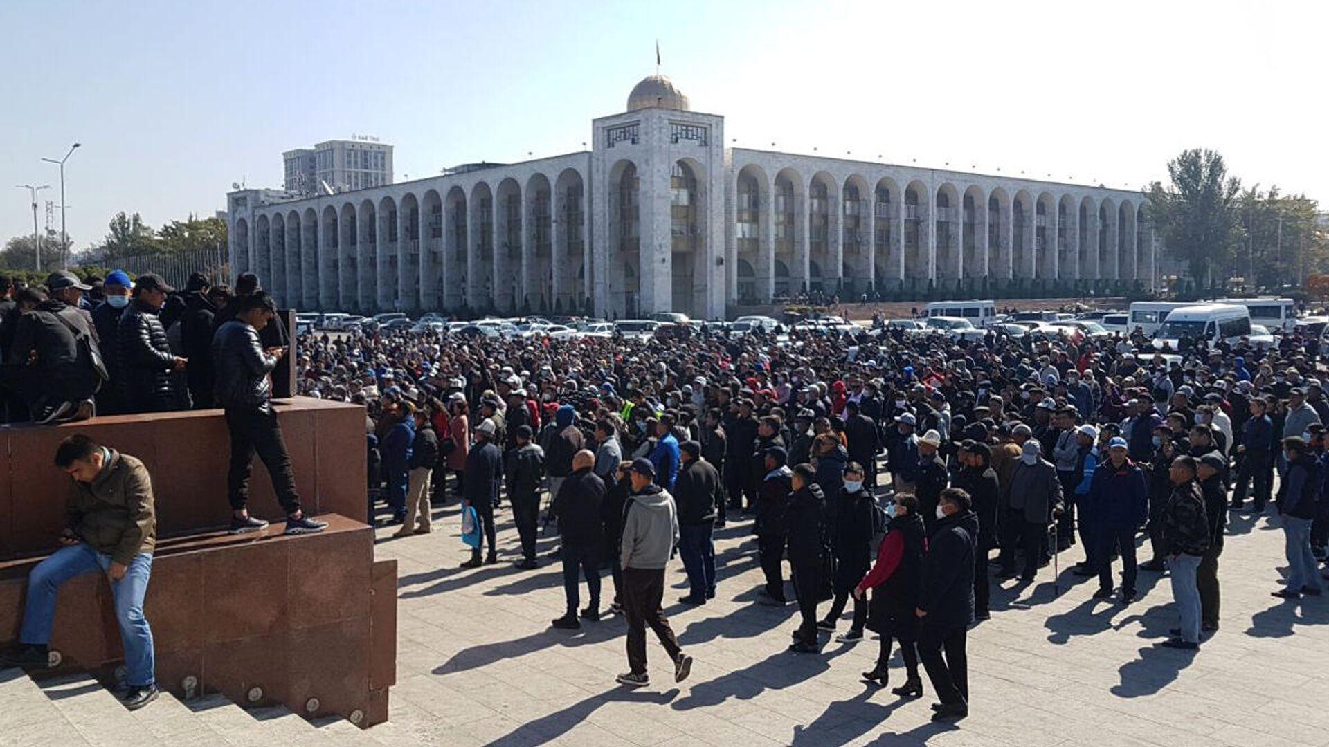 Ситуация в Бишкеке. 7 октября 2020 - РИА Новости, 1920, 07.10.2020