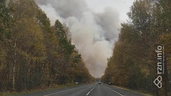 Взрывы в Рязанской области