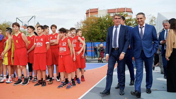 ПСБ открыл первый в России центр уличного баскетбола по стандарту ФИБА