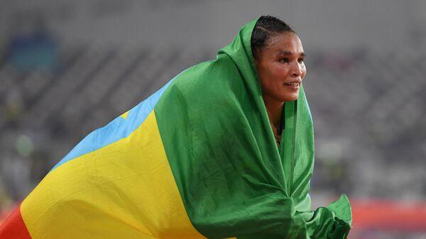 Легкоатлетка Летесенбет Гидей (Эфиопия)