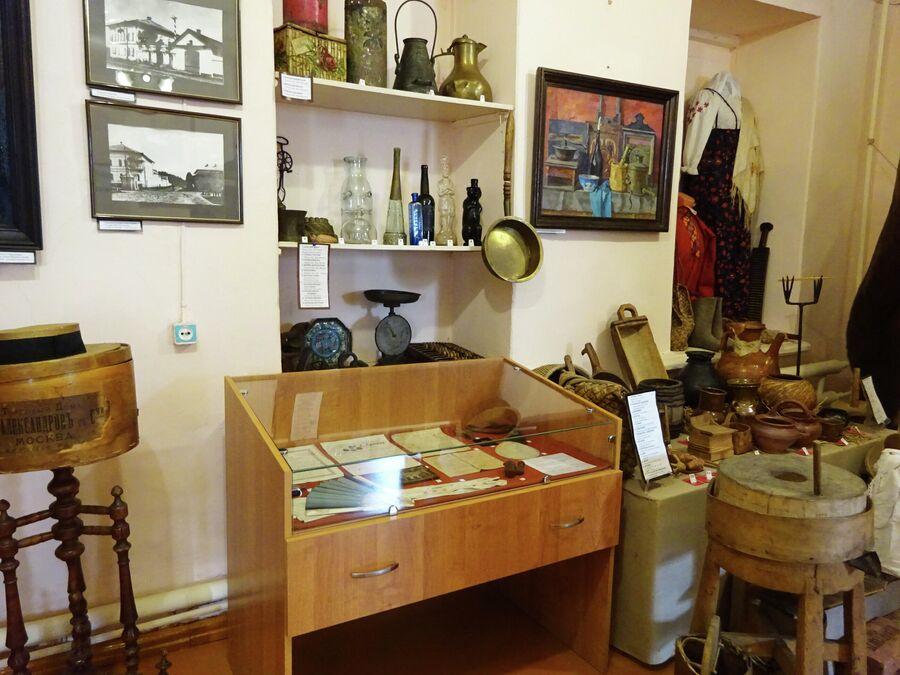 Дом купца Соколова, судиславский музей