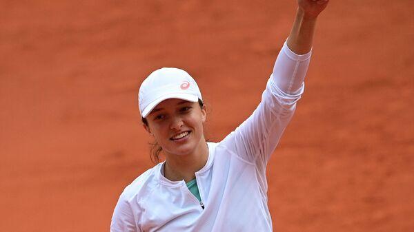 Теннисистка Ига Швентек (Польша)