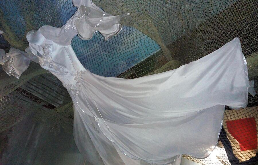 Свадебные платья в Музее морских катастроф