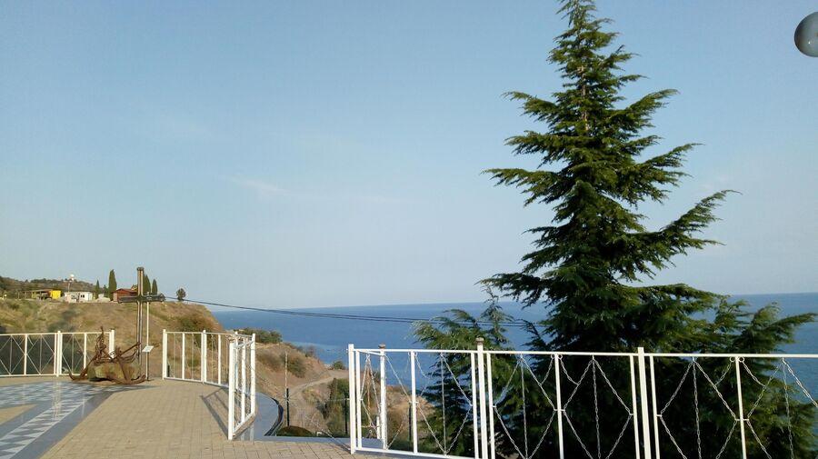 Вид со смотровой площалдки в Малореченском