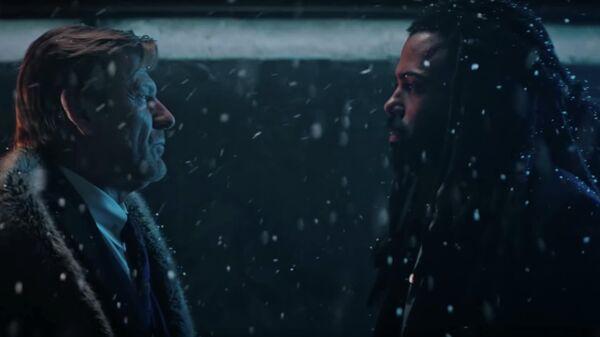 Скриншот трейлера второго сезона сериала Сквозь снег
