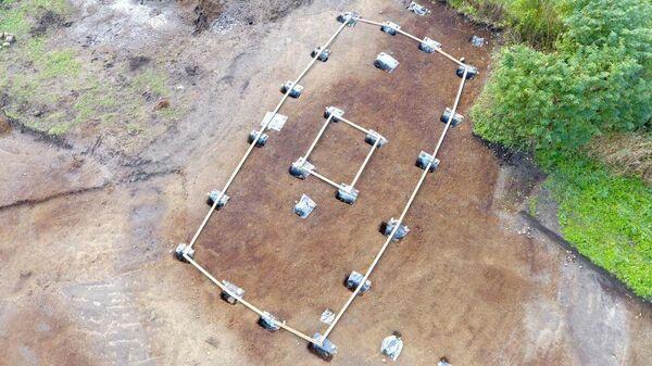 Ямы от столбов храма викингов, найденные во время раскопок в Норвегии