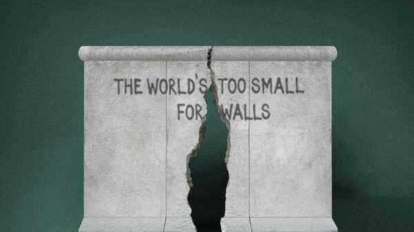 Татьяна Луданик Фрагмент Берлинской стены – конец разделения Германии и Европы. 1990