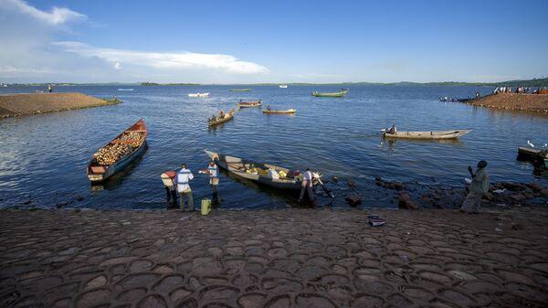 Озеро Виктория в Уганде