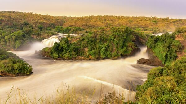 Водопад Мерчисона в Уганде
