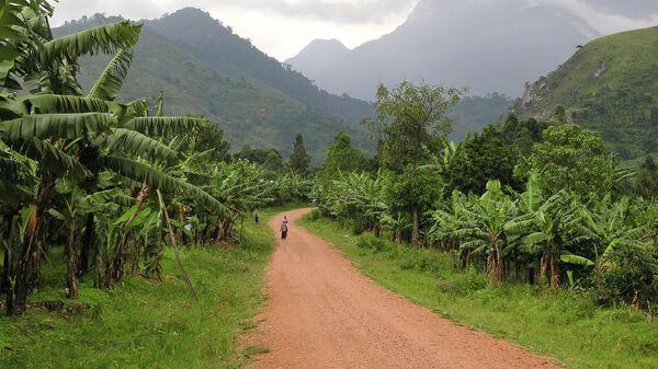 Горы Рувензори, Уганда