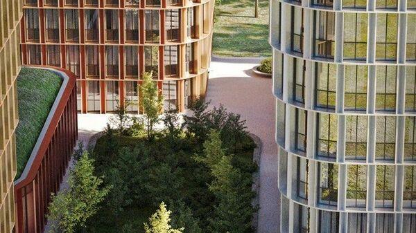 Проект апартаментов на месте киноцентра Соловей на Пресне