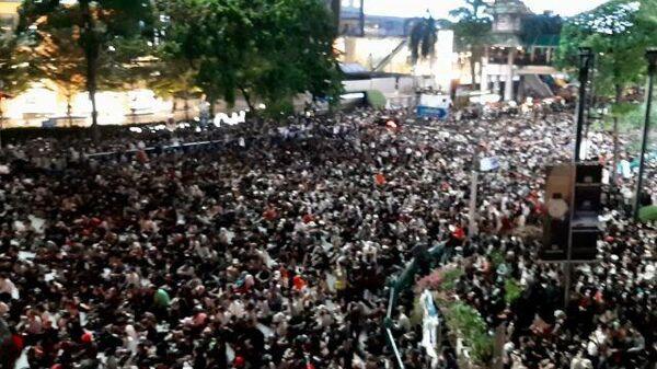 Протесты в Бангкоке: самые многочисленные митинги в Таиланде за десятилетия