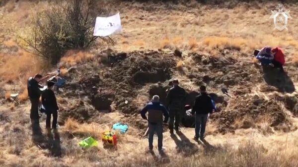 В Ростовской области обнаружены останки мирных жителей, расстрелянных в годы ВОВ