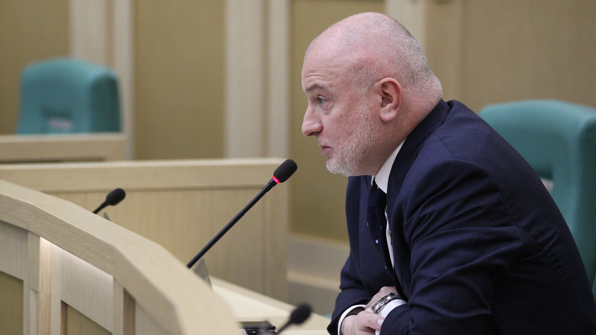 Председатель комитета Совета Федерации РФ по конституционному законодательству и государственному строительству Андрей Клишас  - РИА Новости, 1920, 25.02.2021