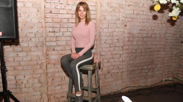 Актриса Анна Старшенбаум на премьерном показе сериала Психологини режиссера Романа Фокина в кинотеатре Фитиль в Москве