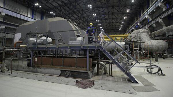 Энергоблок №6 с реактором ВВЭР-1200 на Ленинградской АЭС