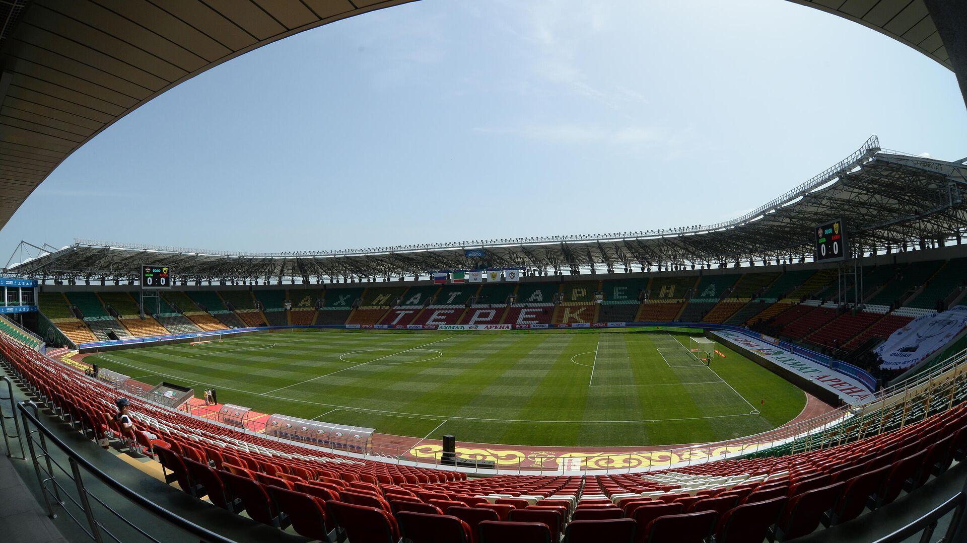 Стадион Ахмат-Арена в Грозном - РИА Новости, 1920, 15.01.2021