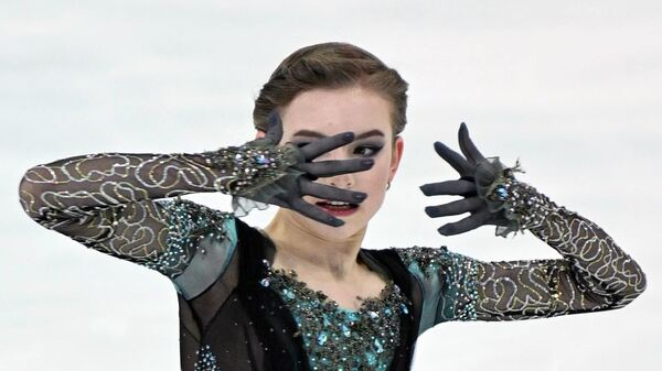 Фигурное катание. III этап Кубка России. Женщины. Произвольная программа