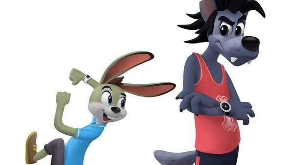 Образ Зайца и Волка из перезапуска Ну, погоди!