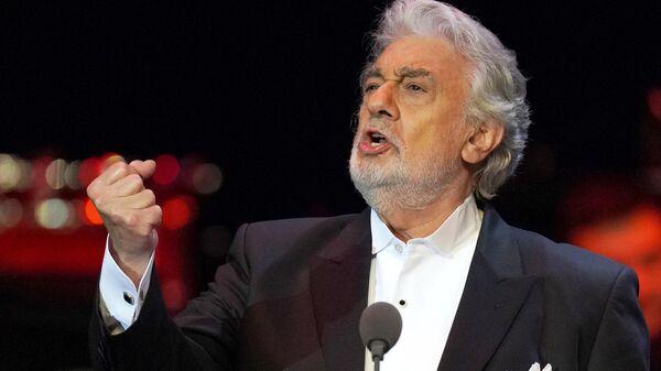 Концерт оперного певца П. Доминго в Москве