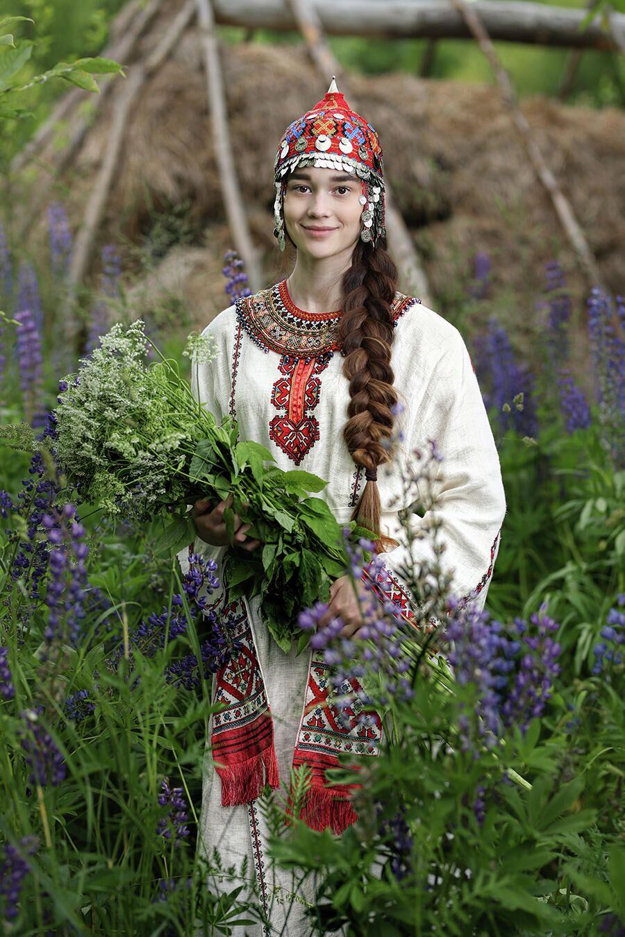 Проект Александра Химушина Мир в лицах. Чуваши