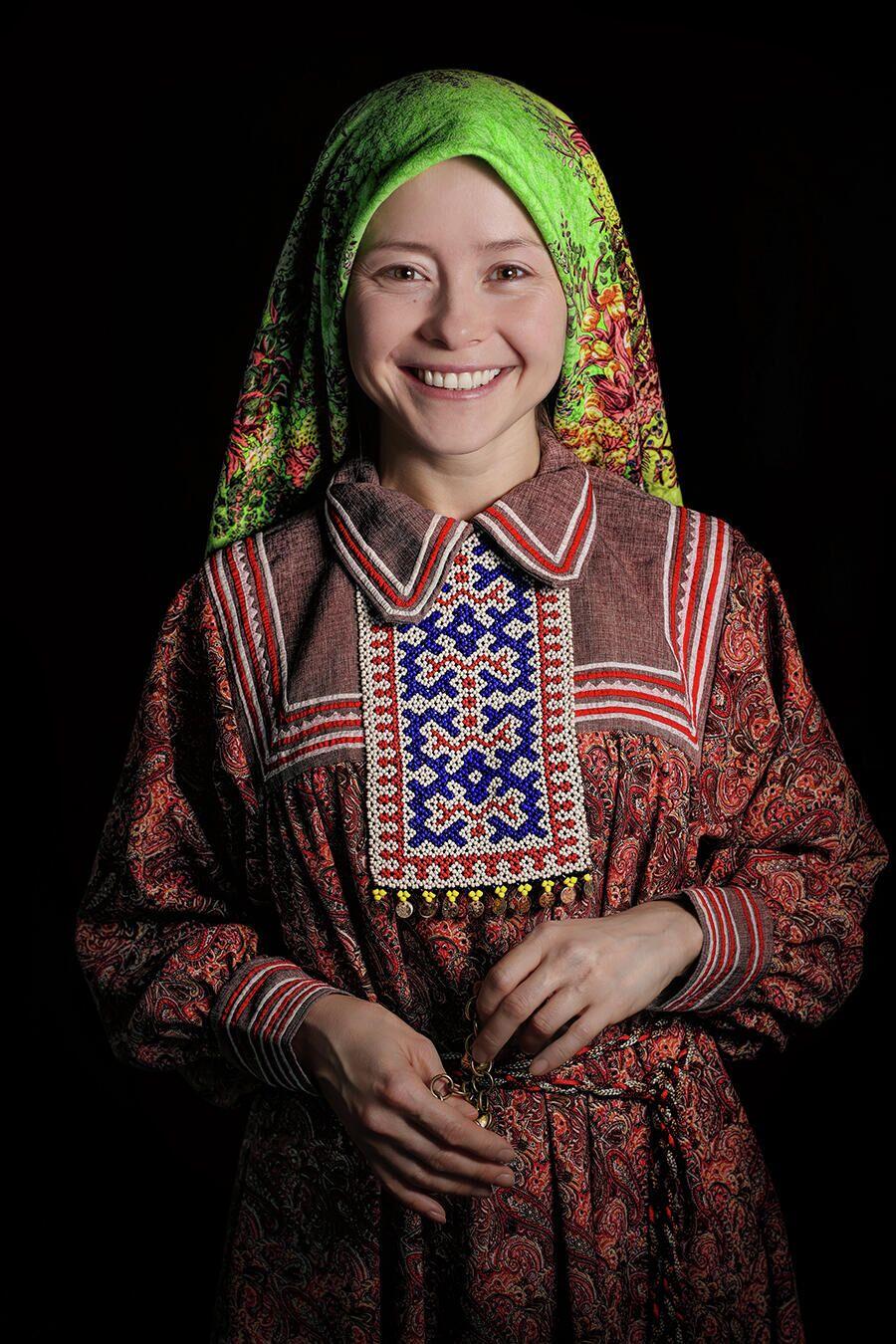 Проект Александра Химушина Мир в лицах. Ханты