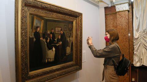 Директор Третьяковской галереи Зельфира Трегулова посетила Самару