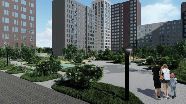 Проект домов в ЖК Скандинавия в новой Москве