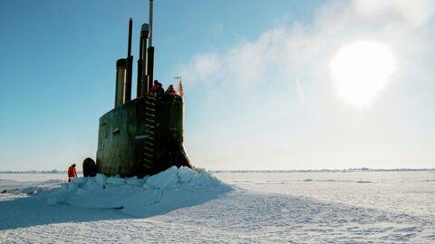 Американская атомная подводная лодка Коннектикут
