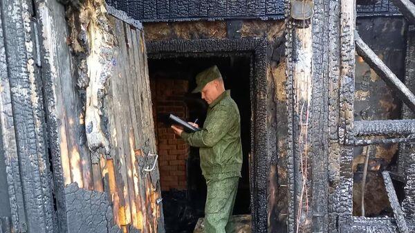 Пожар в городе Котовск, где погибла женщина и двое ее детей