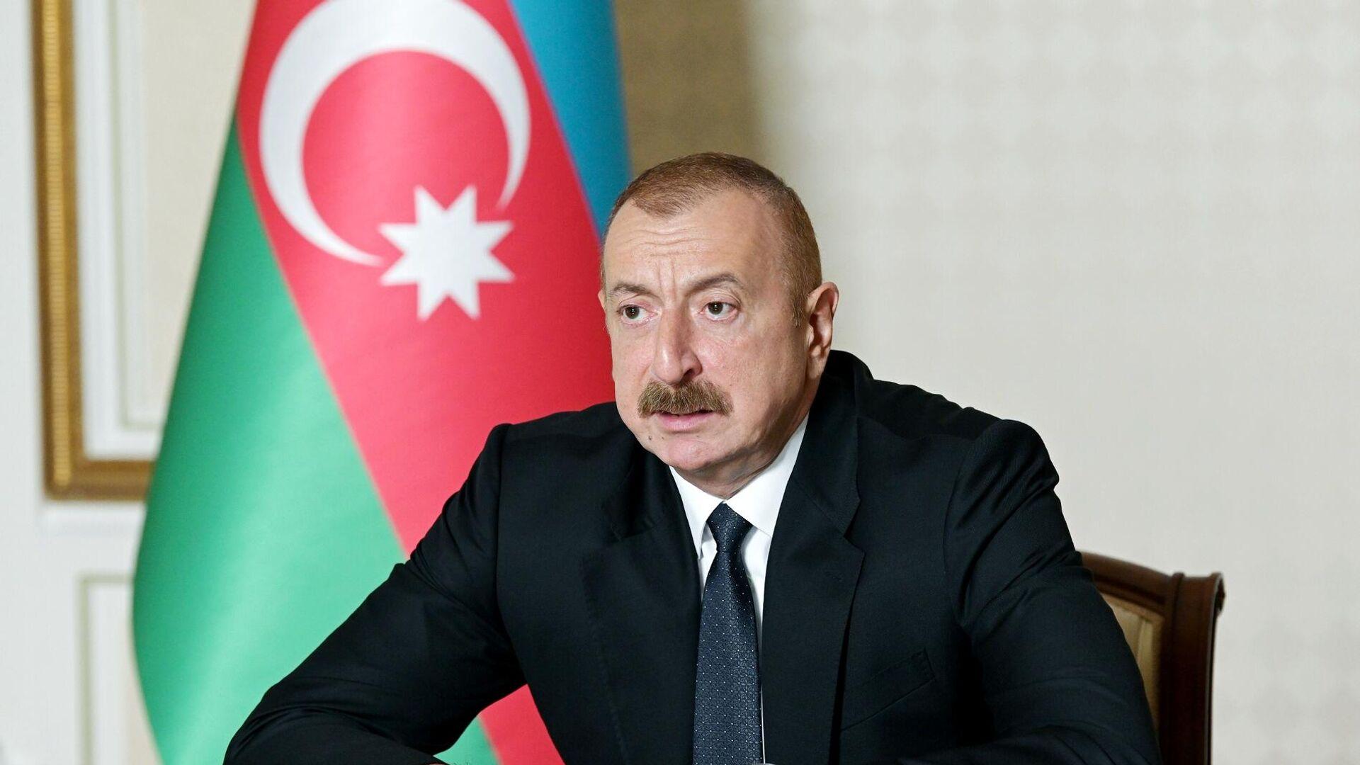 Президент Азербайджана Ильхам Алиев - РИА Новости, 1920, 01.11.2020