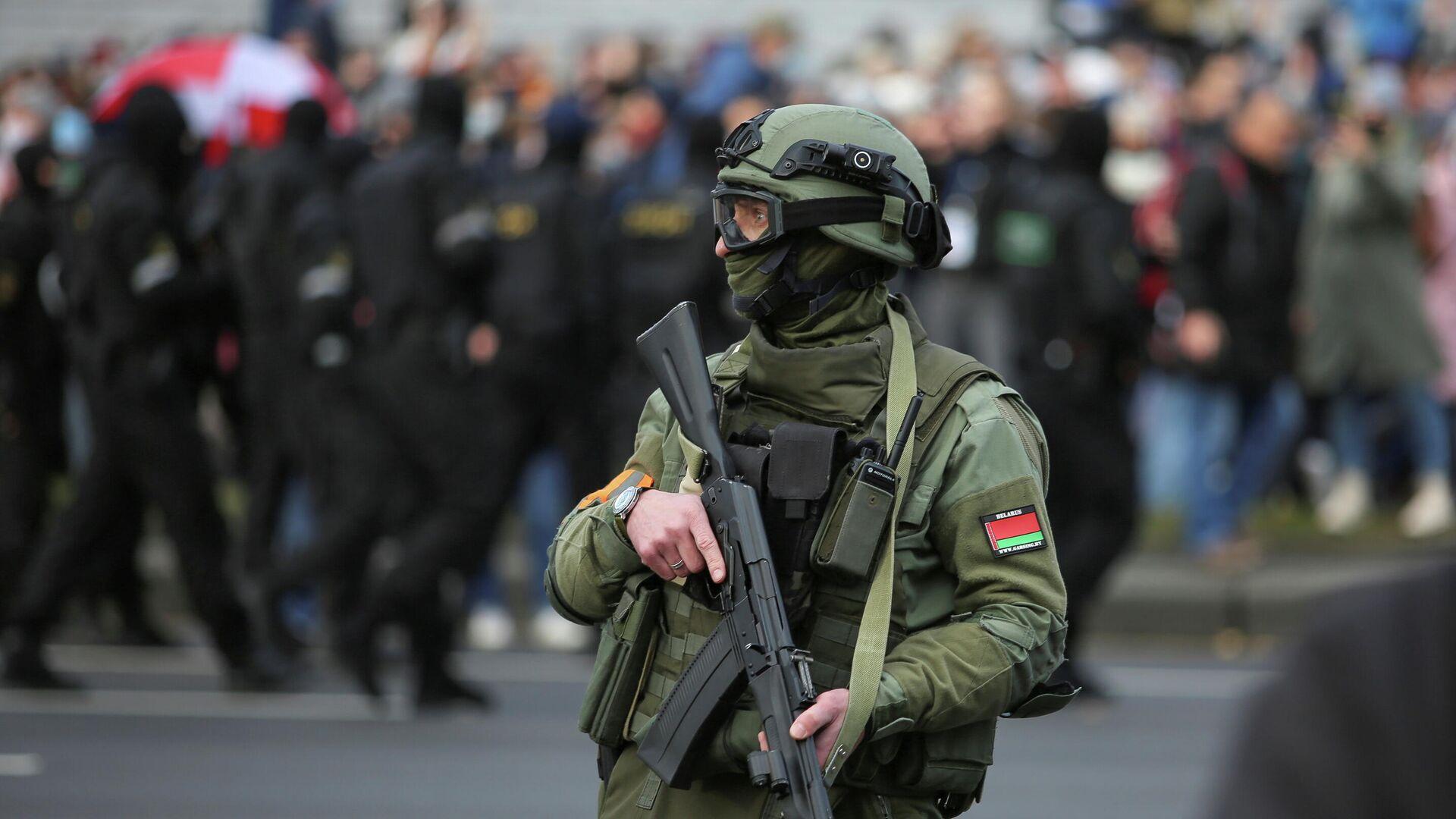 Акция протеста в Минске - РИА Новости, 1920, 05.11.2020