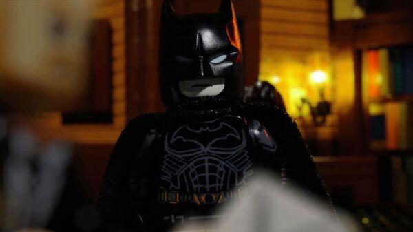 Кадр из LEGO-версии трейлера фильма Бэтмен
