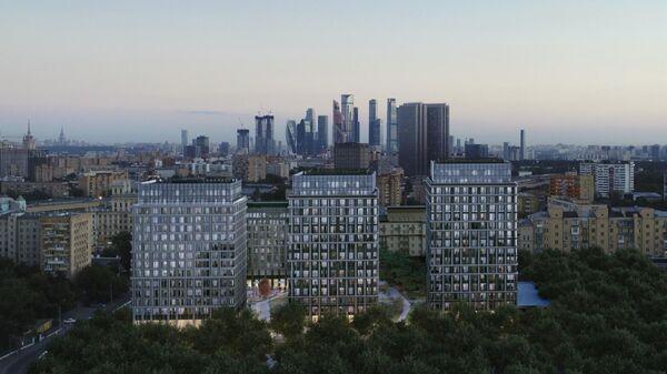 Проект комплекса на месте завода Слава в Москве