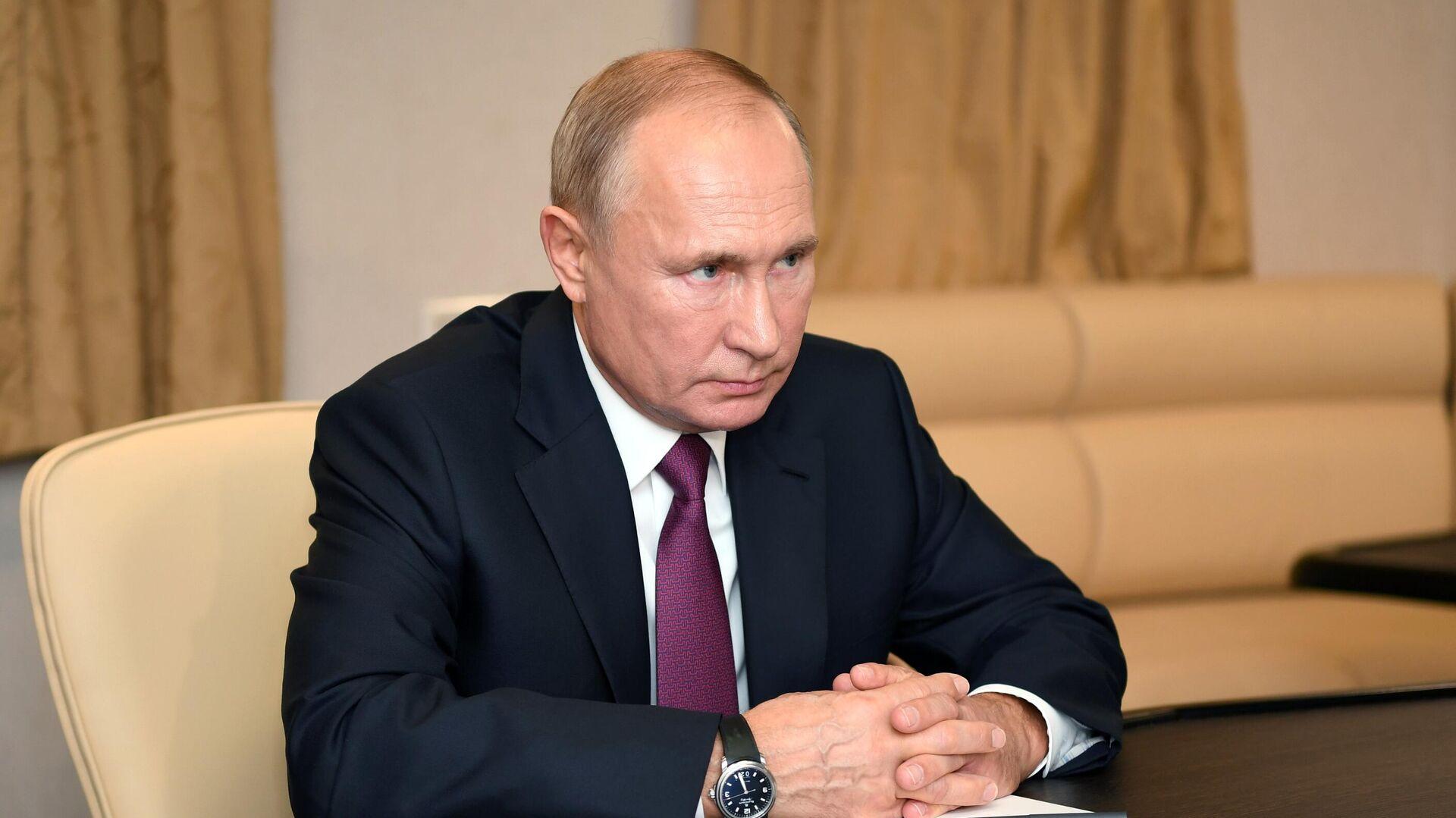 Президент РФ Владимир Путин - РИА Новости, 1920, 02.12.2020