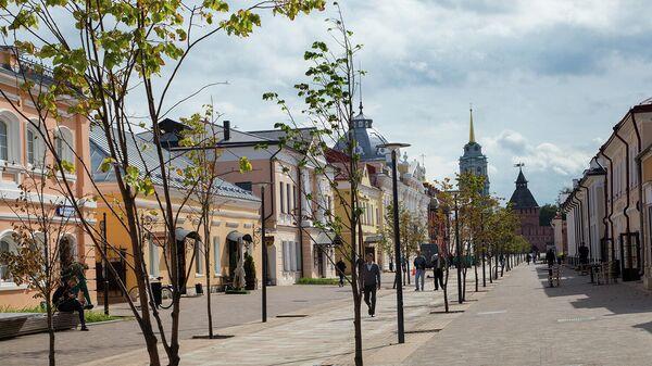 Музейный квартал на улице Металлистов в Туле