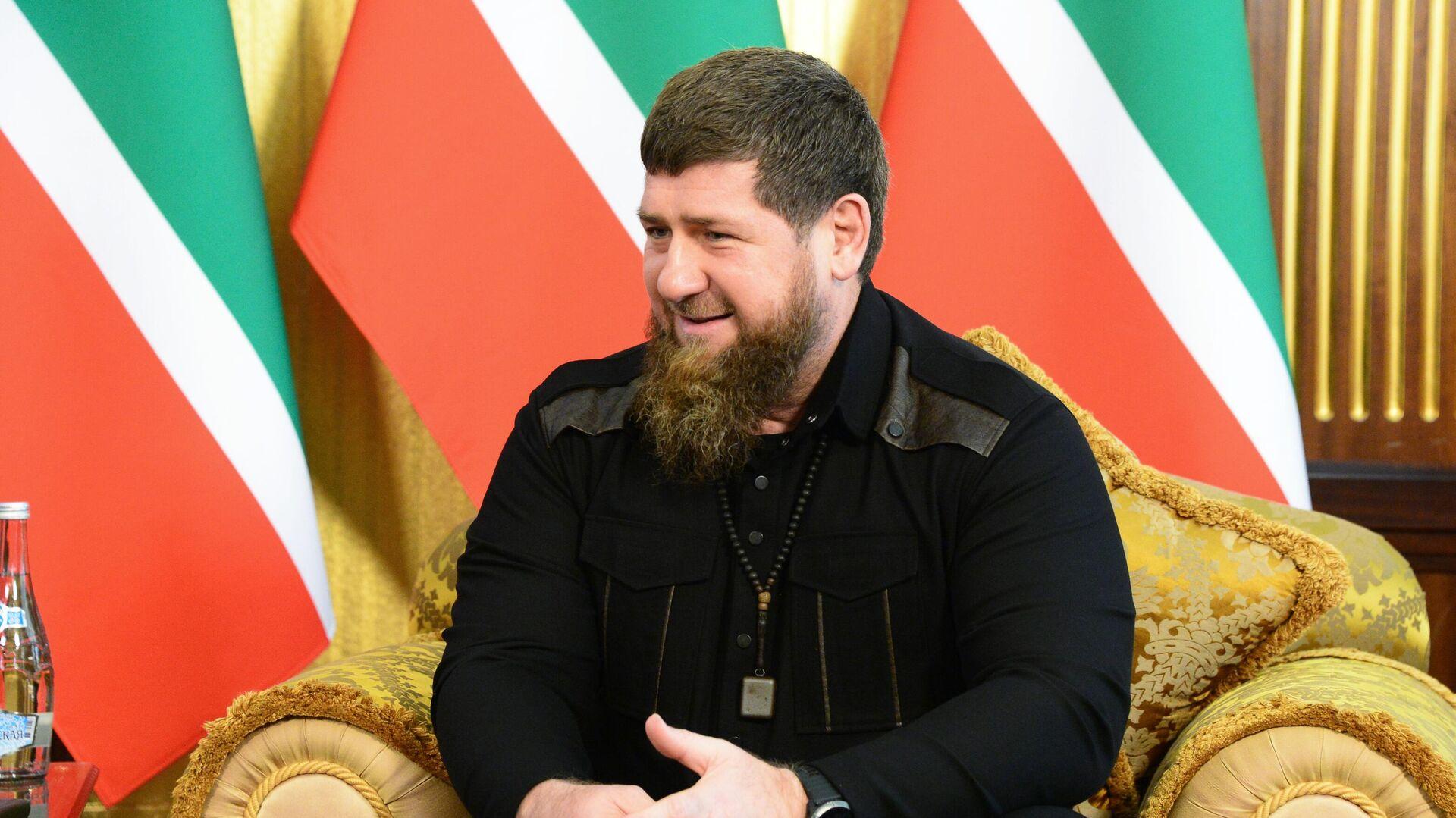 Кадыров назвал себя проектом Путина
