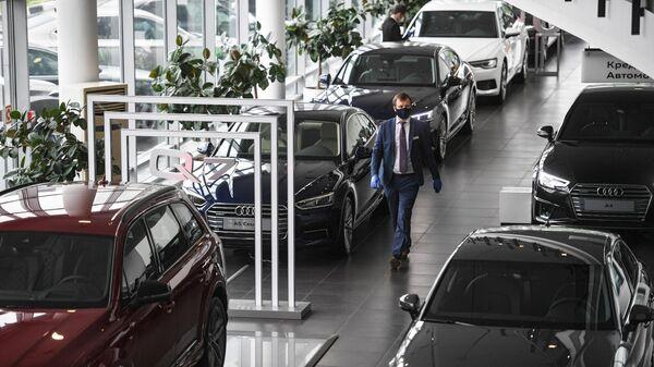 Менеджер автосалона в Москве
