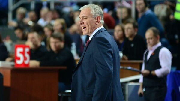 Главный тренер женской сборной России по баскетболу Александр Ковалев