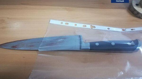 Мужчина с ножом в Кривом Роге на Украине бросался на прохожих